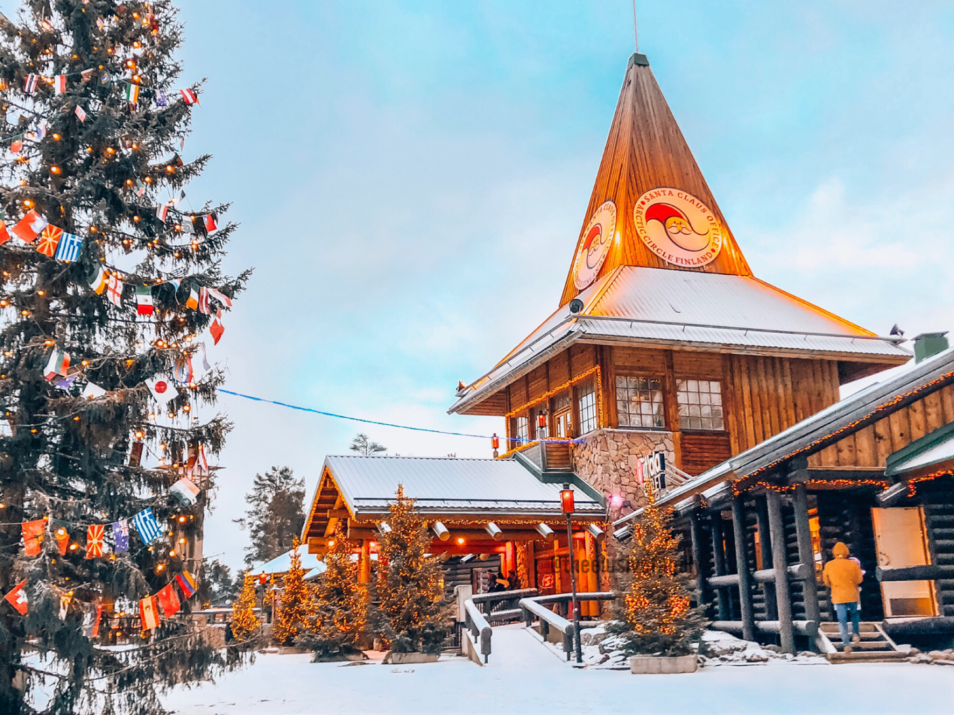 Going to Lapland with kids is a magical experience! husky rides, Santa Claus, ice fishing and so many more activities!