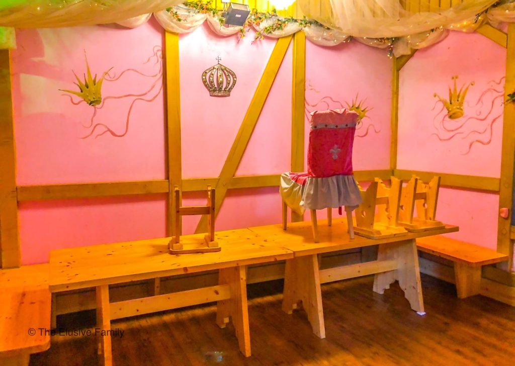 Sensapolis-Princess Party Room