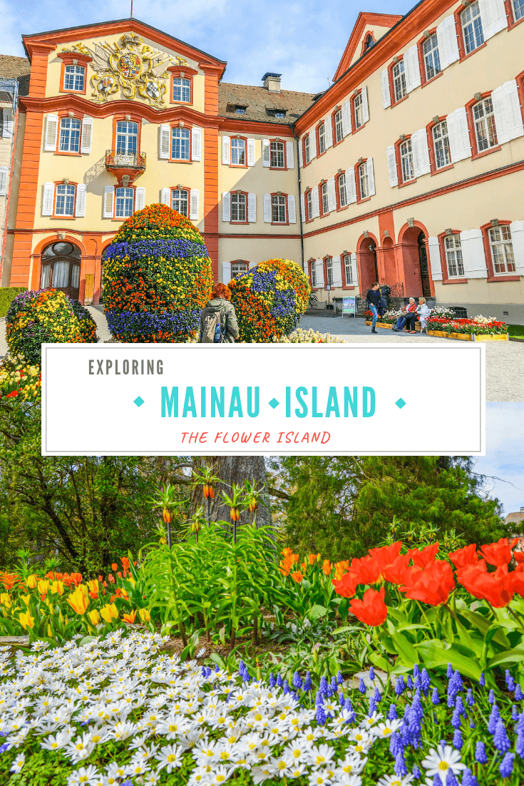 A comprehensive guide to Mainau Island (Insel Mainau) including Kinderland, how to get to the island of Mainau, details on what to see including the Mainau palace, when to visit Mainau Insel, and how to wander about the beautiful flower island, Mainau.