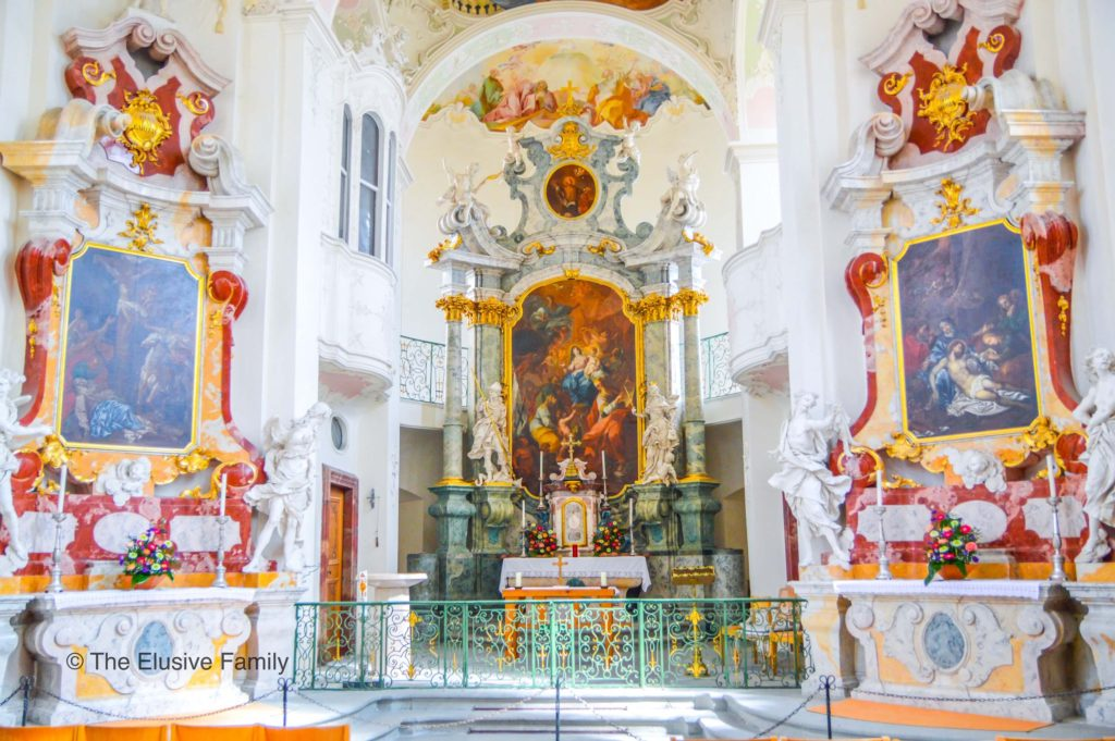 Mainau Church Altar
