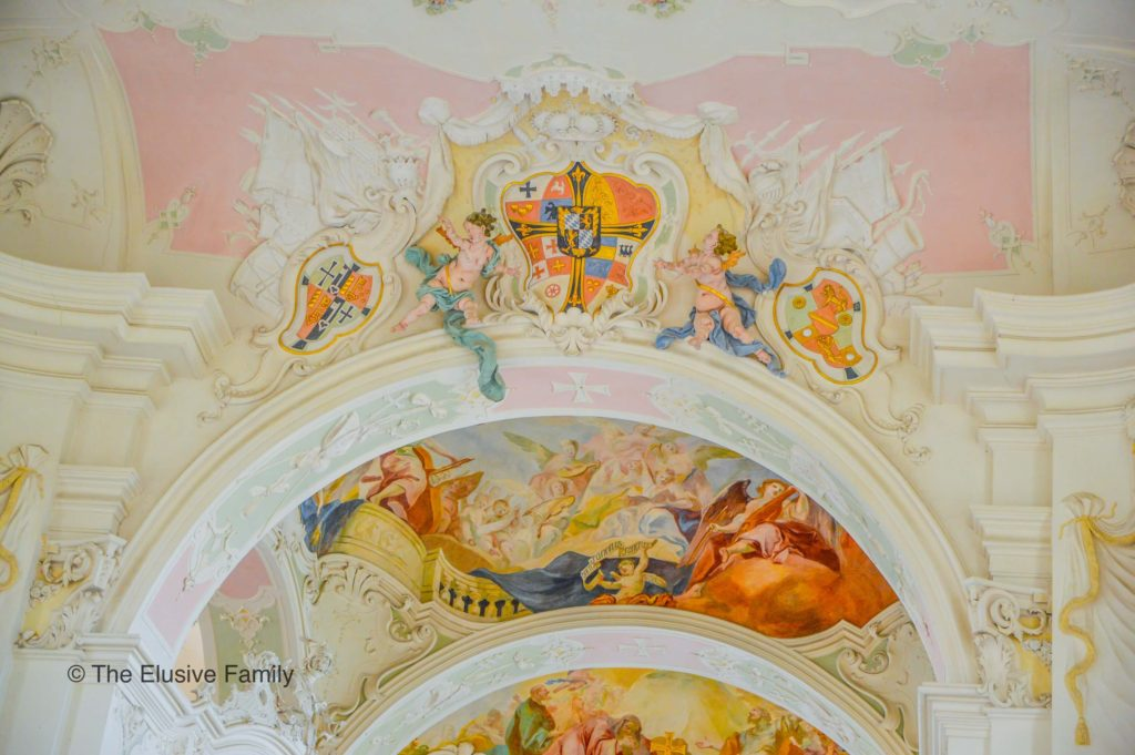 Mainau Church Ceiling