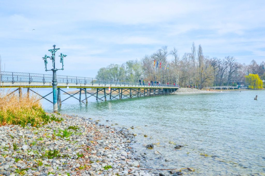 Mainau Pedestrian Bridge