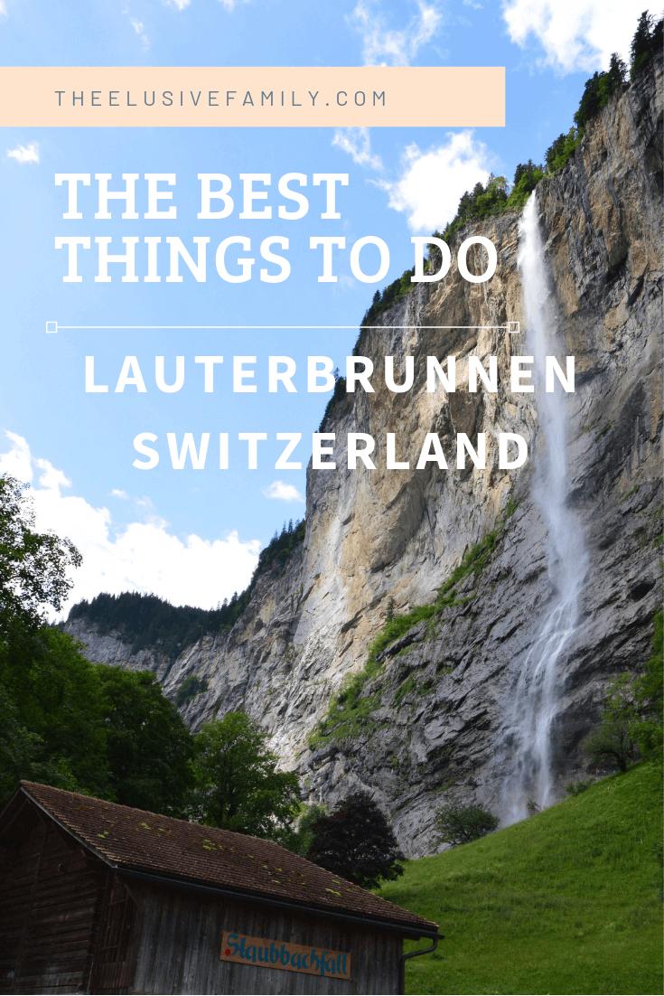Lauterbrunnen Switzerland-pin