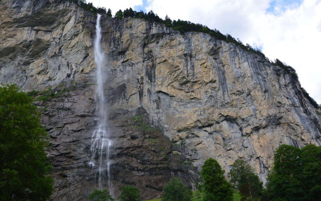 Staubbach Waterfall, Lauterbrunnen Valley Switzerland