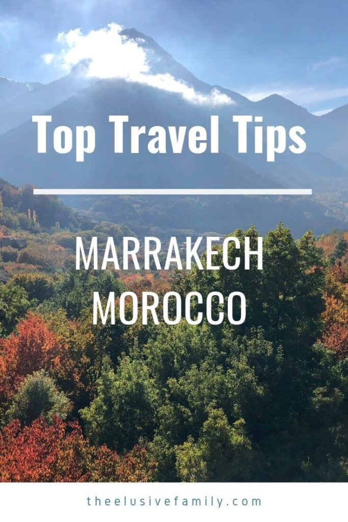 Going to Marrakech? Find the top tips for Marrakech, advice on what to do, where to go, what to see and anything else you need to know to make your Marrakech travel trip memorable.   #theelusivefamily  #familytravel  #marrakech #morocco
