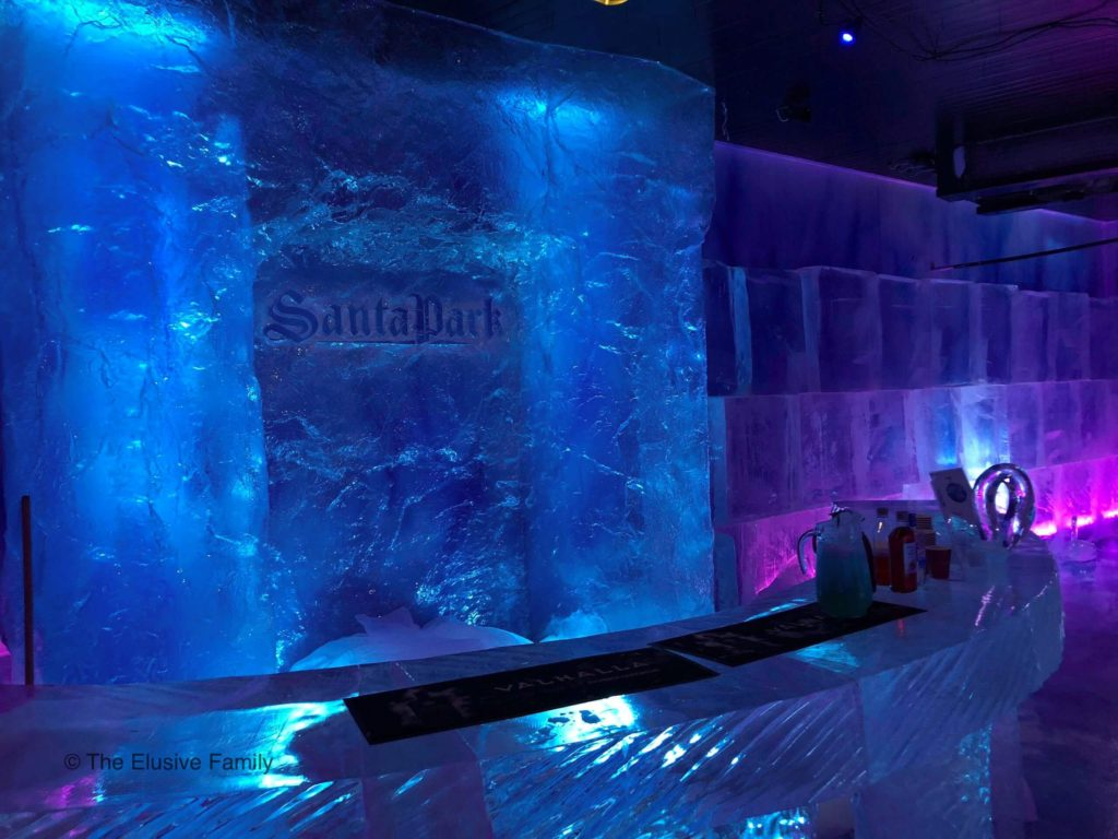 Ice Bar-Actual Bar-Santa Park Theme Park