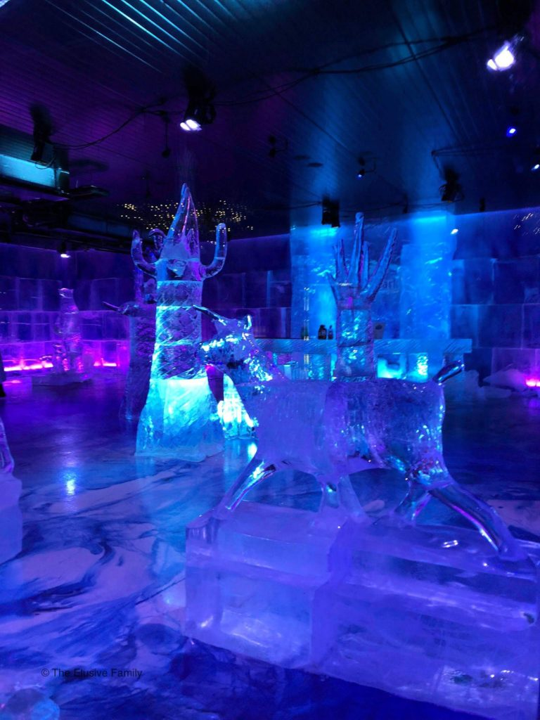 Ice Sculptures-Santa Park Theme Park