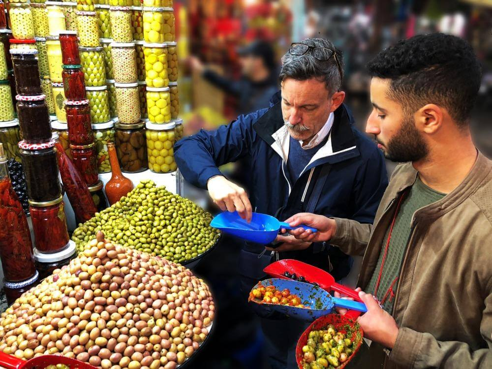 One of the best tips for Marrakech is taking a food tour in Marrakech Morocco
