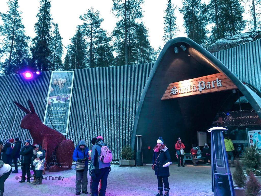 Santa Park Theme Park-Rovaniemi, Finland Entrance