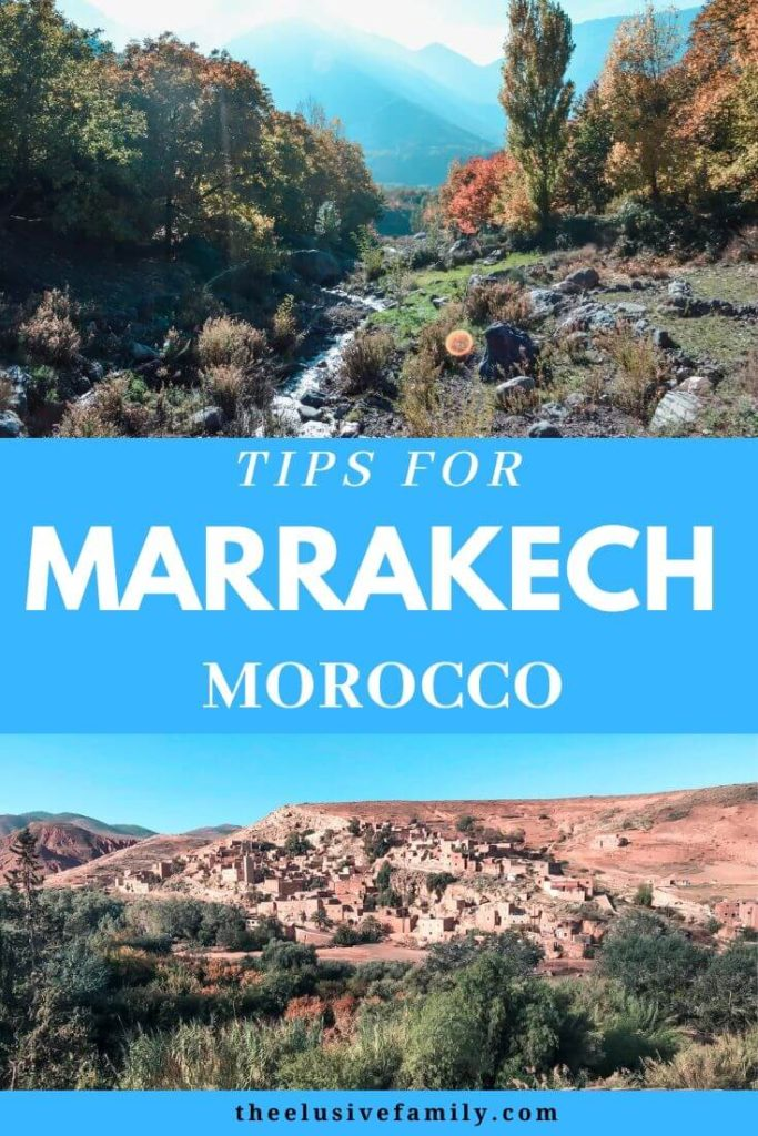 Traveling to Marrakech?  Find out things to do in Marraech inclyding the best insider tips for visiting including what to see in Marrakech, best tours in Marrakech, and even tips on what to wear in Marrakech.  #theelusivefamily  #familytravel  #marrakech #morocco