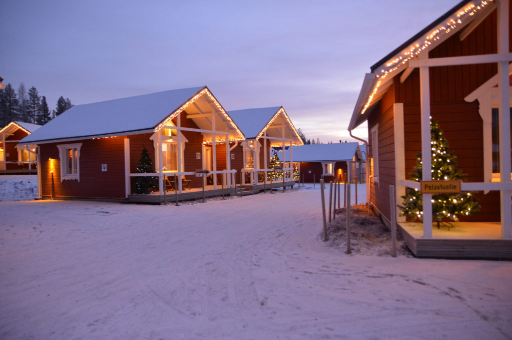Santa Claus Holiday Village- Rovaniemi, Finland