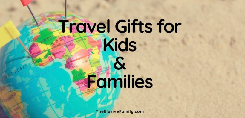 Looking for travel gifts for kids? Or just for family travel gifts? We have kid travel gift ideas for toddlers, preschooler, kindergarteners and older kids as well. Read our guide to some of the best family gift ideas to give to families who love to travel.